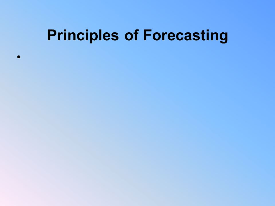 Impacts of Forecasting Forecasting errors can increase the total cost of ownership for a product - inventory carrying costs - obsolete inventory - lack of sufficient inventory - quality of products due to accepting marginal products to prevent stockout - expediting costs