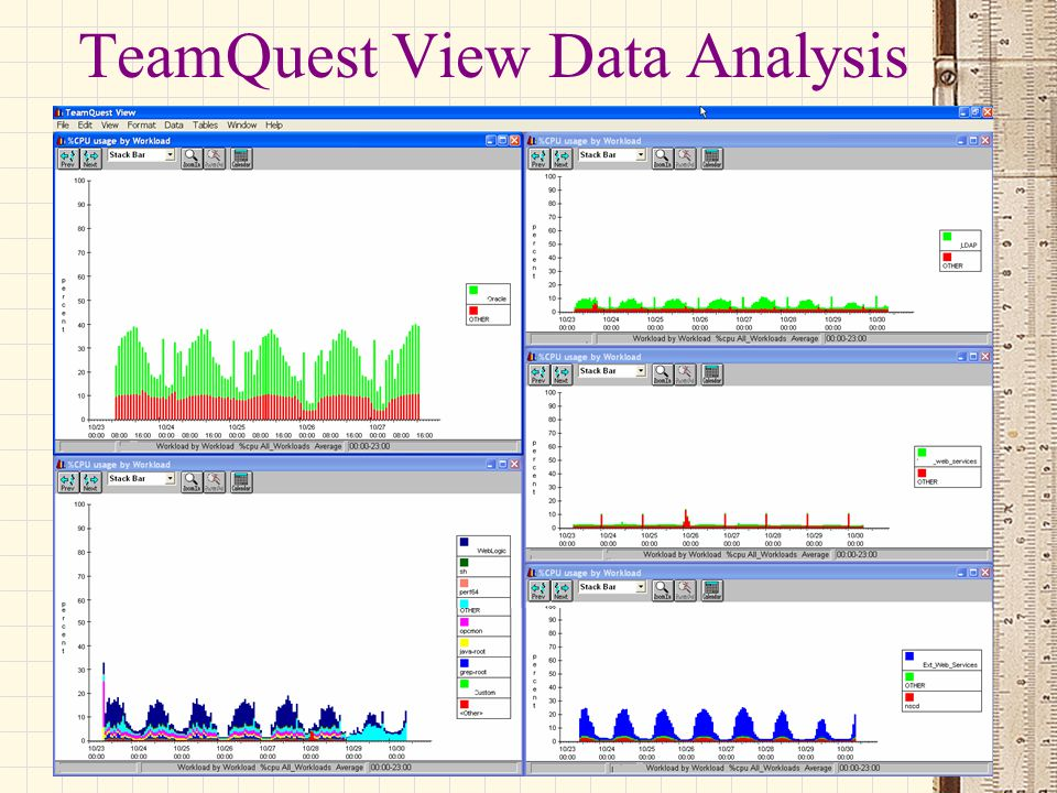 TeamQuest View Data Analysis