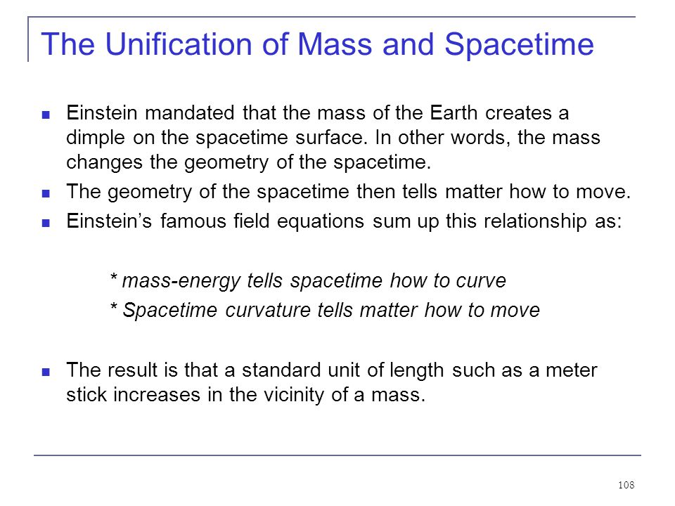 107 Spacetime Curvature of Space Light bending for the Earth observer seems to violate the premise that the velocity of light is constant from special