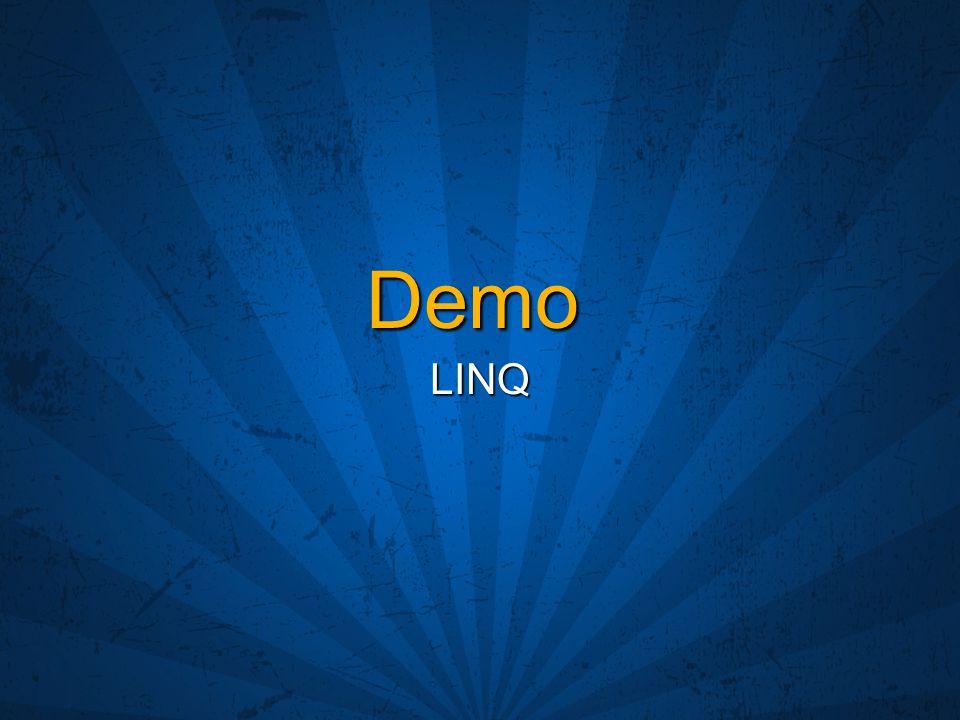 Demo LINQ