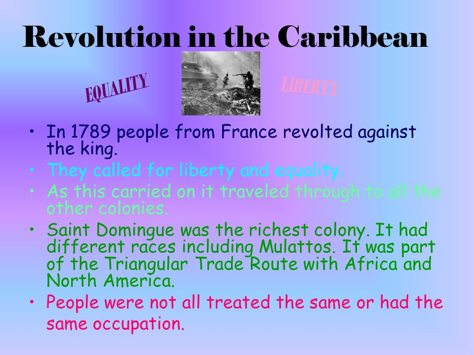 Time frame: 1790-1820 Main idea: Latin American countries fight for independence.