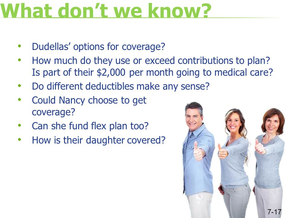 What don't we know. Dudellas' options for coverage.