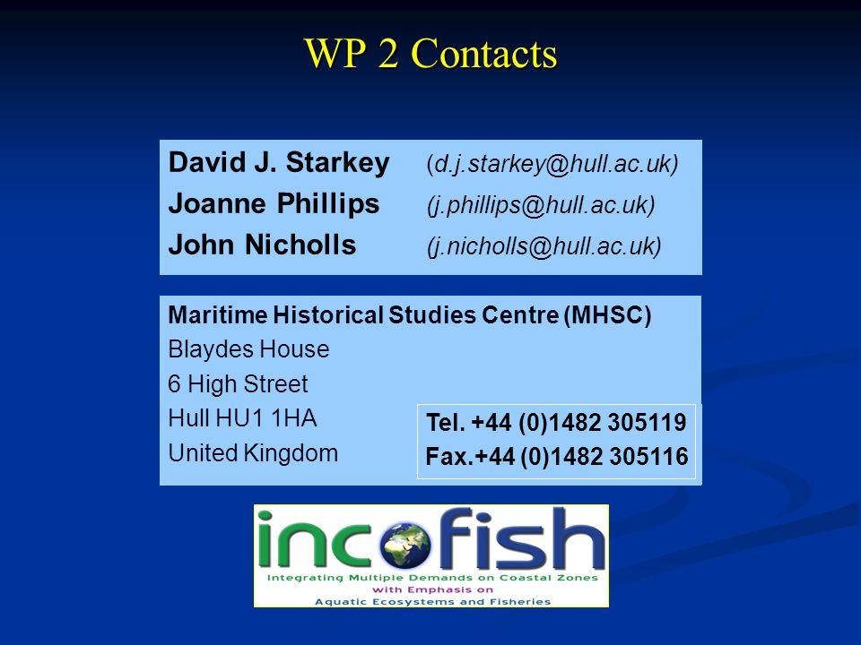 WP 2 Contacts David J.