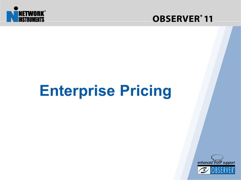Enterprise Pricing