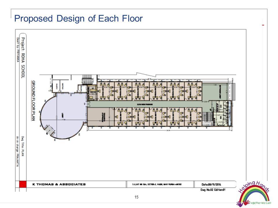 15 Proposed Design of Each Floor