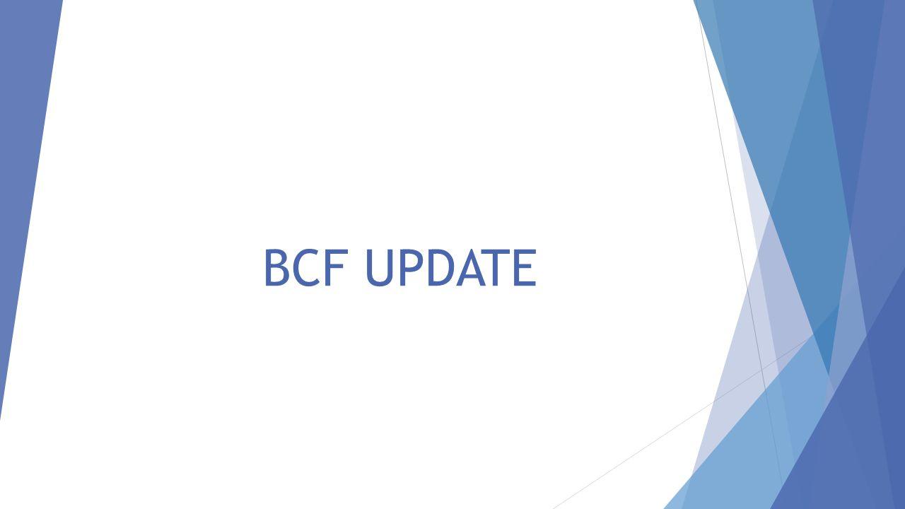 BCF UPDATE