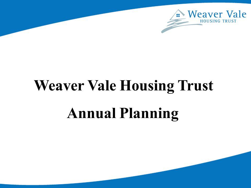 Weaver Vale Housing Trust Annual Planning