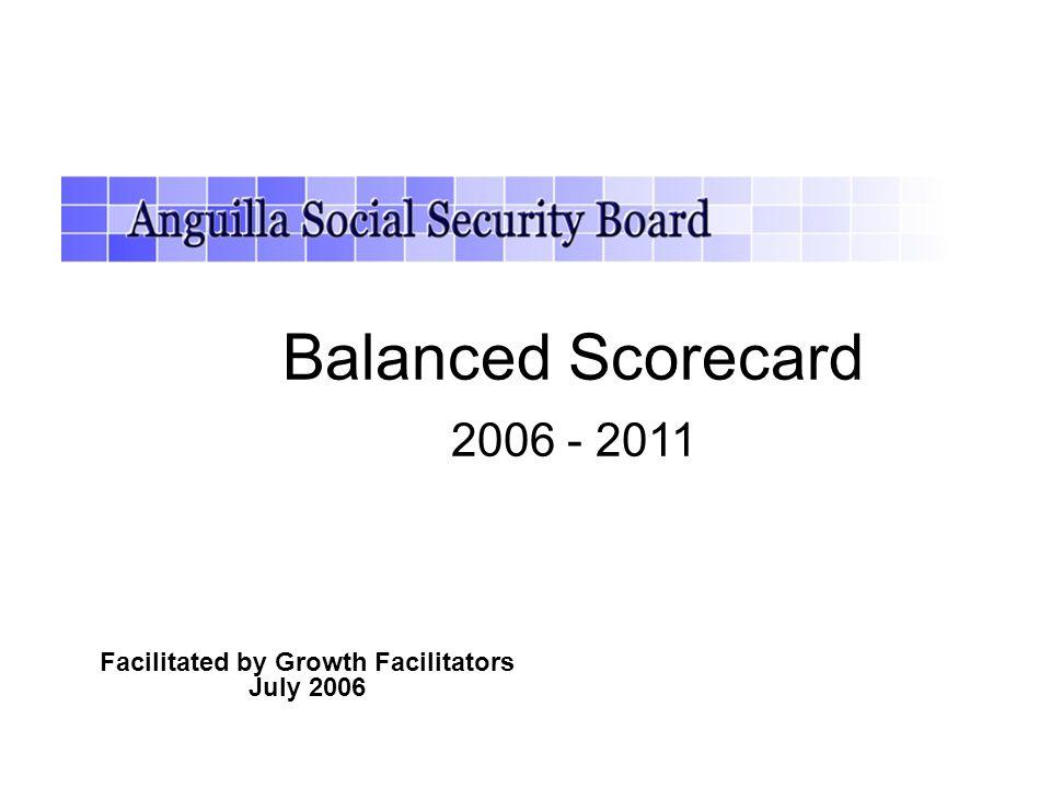 Facilitated by Growth Facilitators July 2006 Balanced Scorecard 2006 - 2011