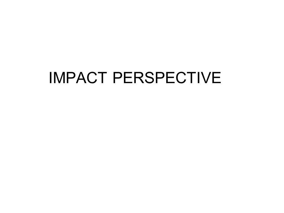 IMPACT PERSPECTIVE
