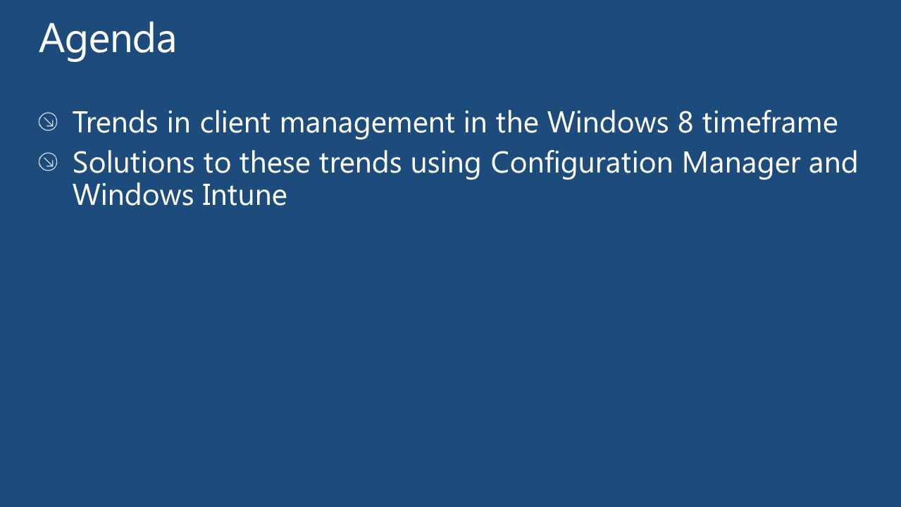 demo Name Title Group User Centric Application Deployment with Windows Intune