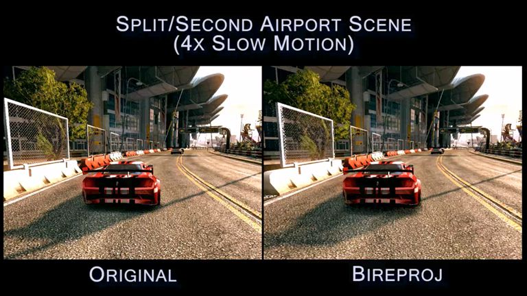 Advances in Real-Time Rendering in 3D Graphics and Games 43 Bireproj results – Split/Second