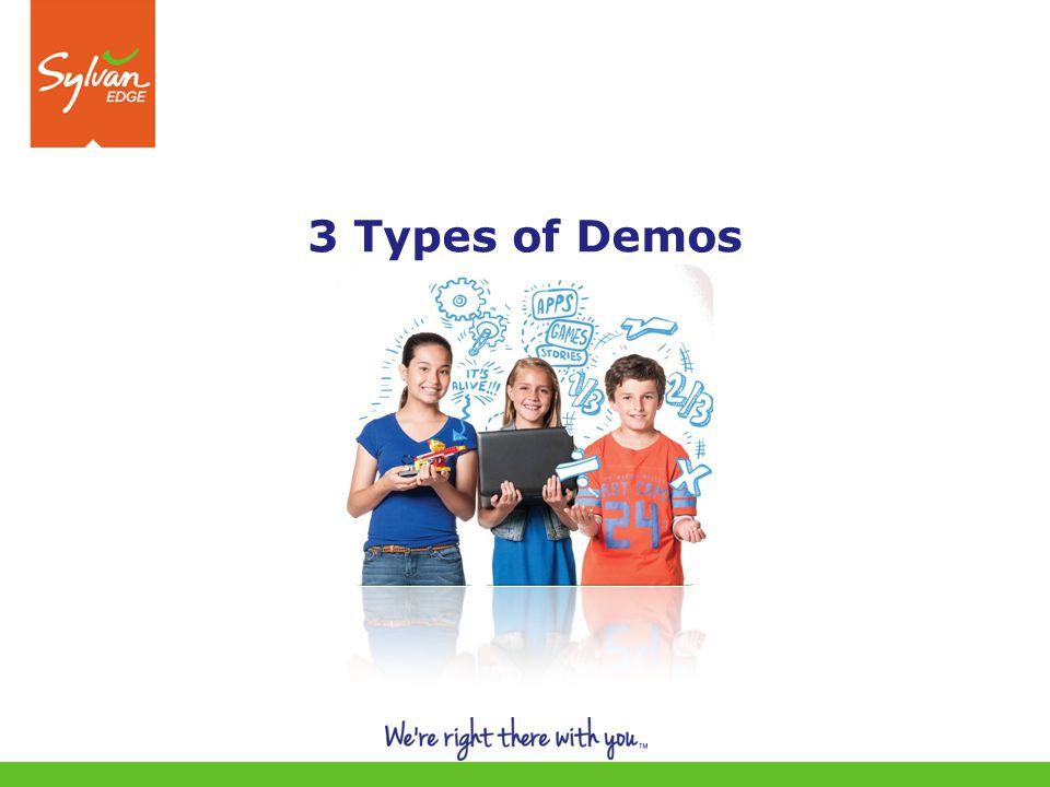 3 3 Types of Demos