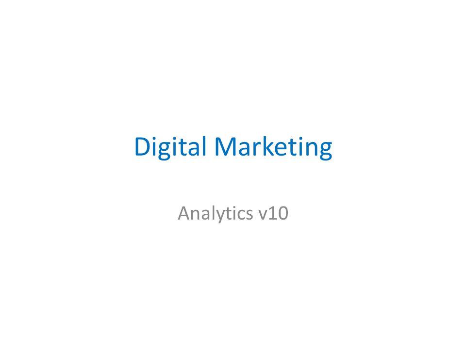 Digital Marketing Analytics v10