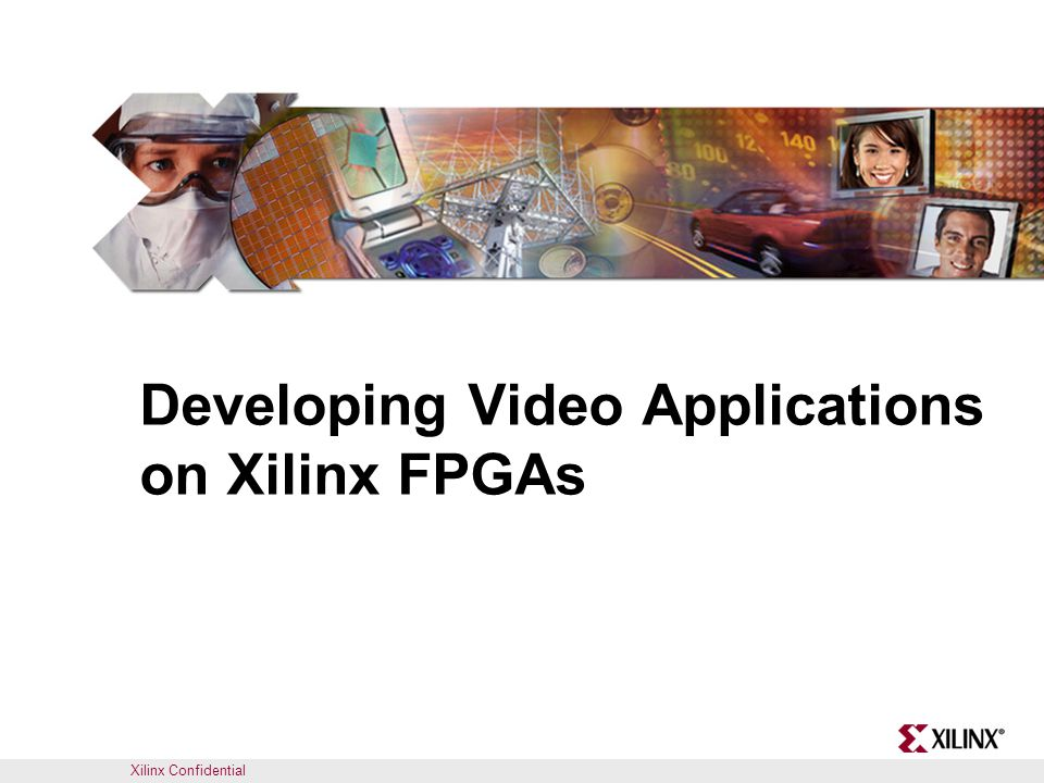 Xilinx / Avnet / Mathworks Video Seminar22 Video Starter Kit Reference IP Core Name Use in Reference Designs DVI Pass-throughCamera Frame BufferFrame Buffer DVI_IN and DVI_OUT Yes Camera processing Yes DE_GEN Yes VIDEO_TO_VFBC Yes Video Frame Buffer Controller (VFBC) Yes Provided as a library of drag and drop IP for use with the video base system Provides abstraction to the video interface details – Includes SW driver files Platform Studio IP Catalog Generated by SysGen Reference IP included with the VSK