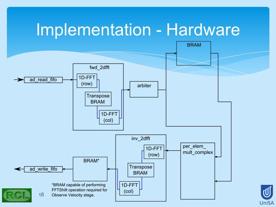 18 Implementation - Hardware