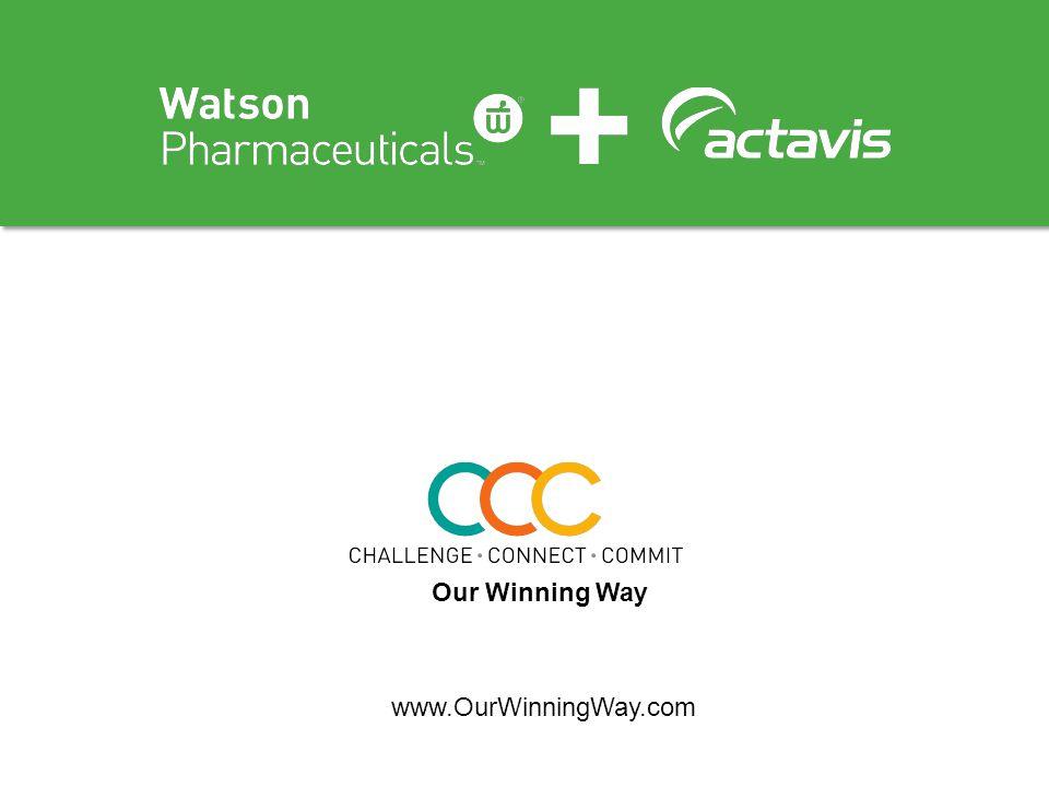 Our Winning Way www.OurWinningWay.com
