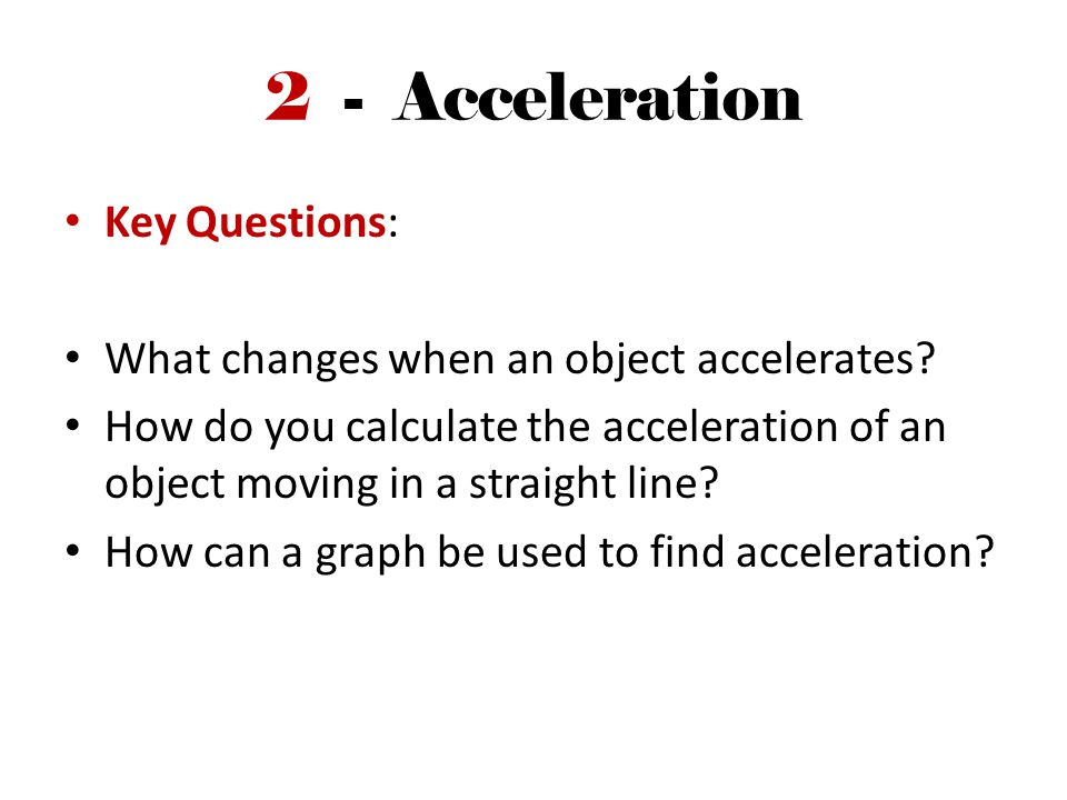 Velocity Changes upon Acceleration Speed can change, but so can direction Notice speed is changing with each second