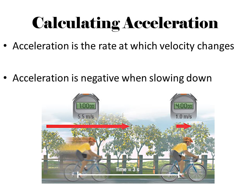 Graphing Accelerated Motion The slope of a straight line on a speed vs.
