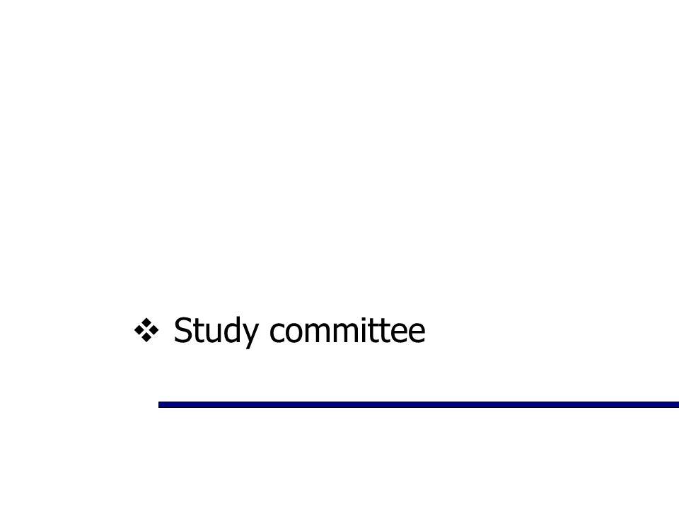  Study committee