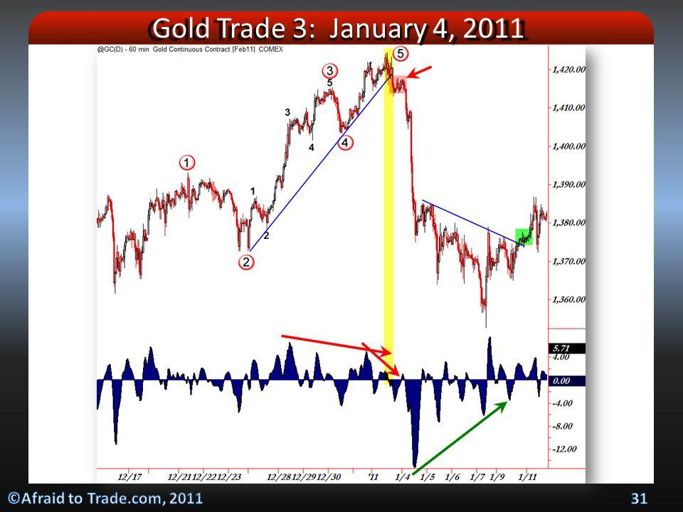 Gold Trade 3: January 4, 2011