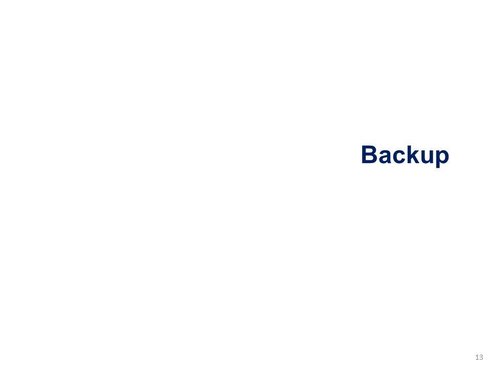 Backup 13