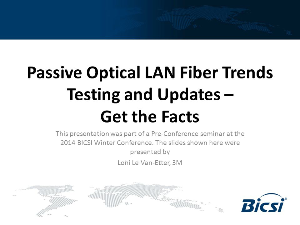 What Is A Passive Optical LAN ?