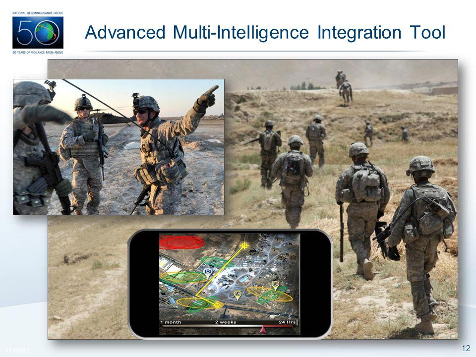12 1110001 Advanced Multi-Intelligence Integration Tool