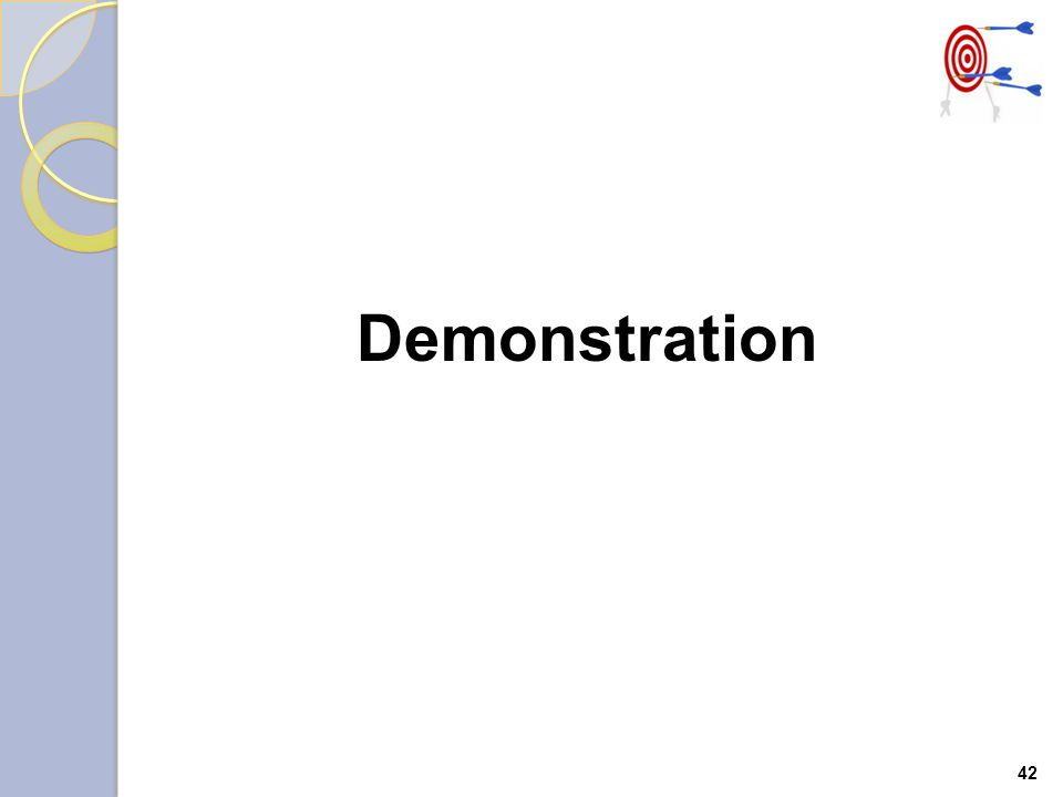 42 Demonstration