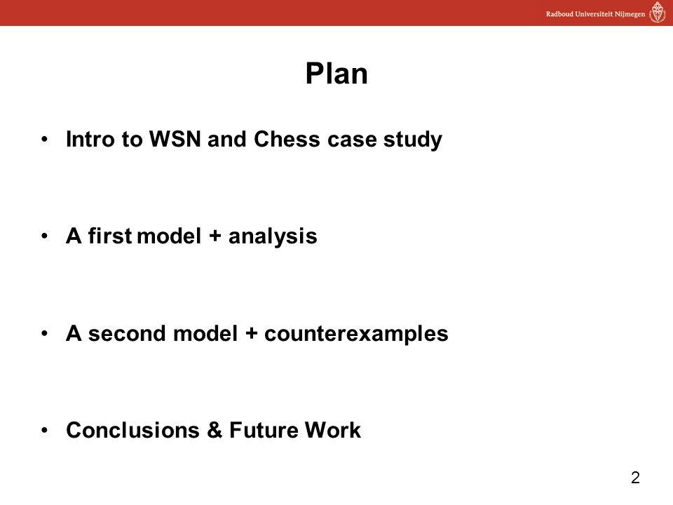 1 Modeling Clock Synchronization in the Chess gMAC WSN Protocol Mathijs Schuts Feng Zhu Faranak Heidarian Julien Schmaltz Frits Vaandrager QFM'09 FM'09
