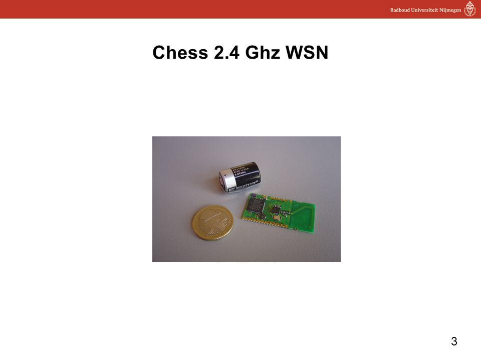 3 Chess 2.4 Ghz WSN