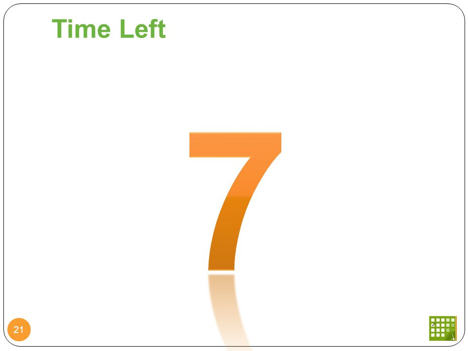 Time Left 21