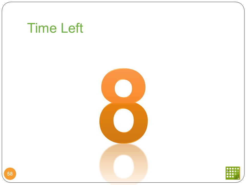 Time Left 58