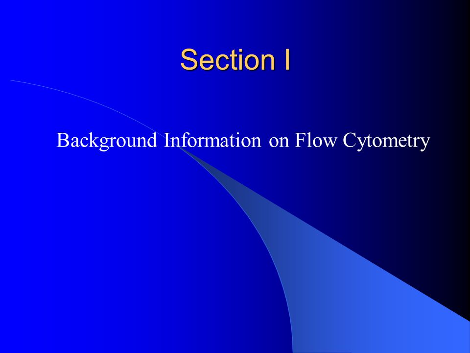 What Happens in a Flow Cytometer (Simplified) Cell flash.swf Flow Cell- the place where hydrodynamically focused cells are delivered to the focused light source