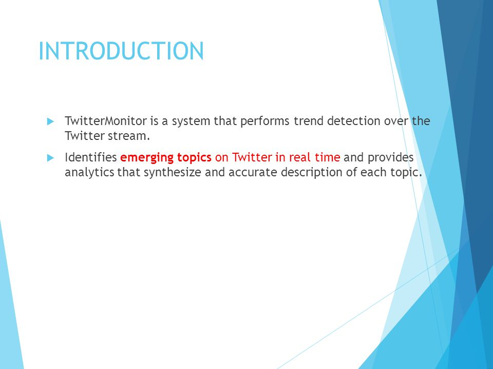 TREND DETECTION AND ANALYSIS  Step 1: Trend Detection.