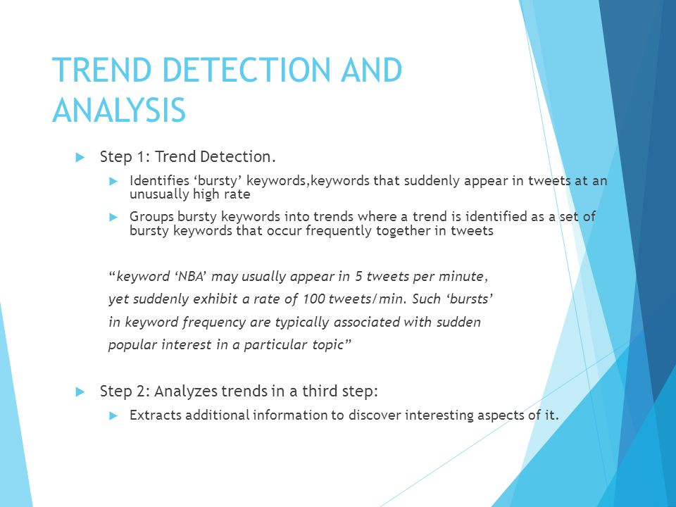 Spacial Keyword Identification  Find keywords which are highly localized.