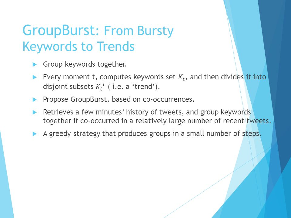 Trend Analysis  Compose description of each trend.