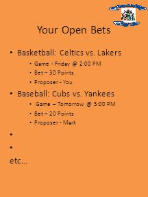 Your Open Bets Basketball: Celtics vs.