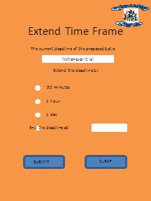 Extend Time Frame The current deadline of this proposed bet is (Whenever it is) Extend the deadline by 1 hour 1 day End the deadline at: 30 minutes SUBMIT CLEAR