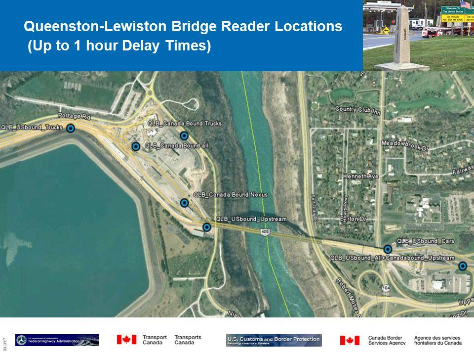 09-2857 Queenston-Lewiston Bridge Reader Locations (Up to 1 hour Delay Times) 3