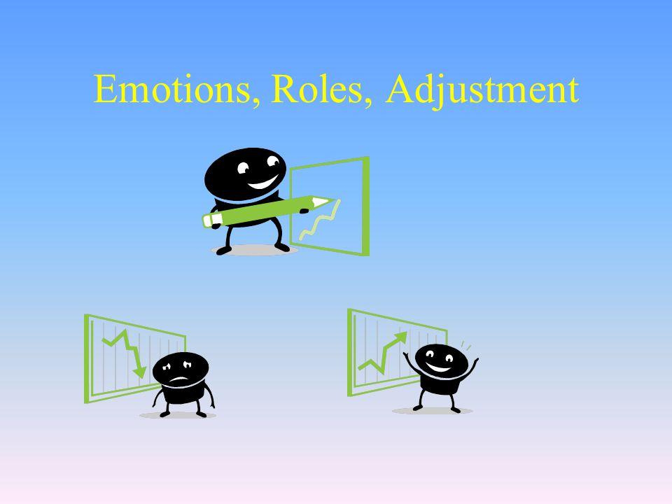 Emotions, Roles, Adjustment