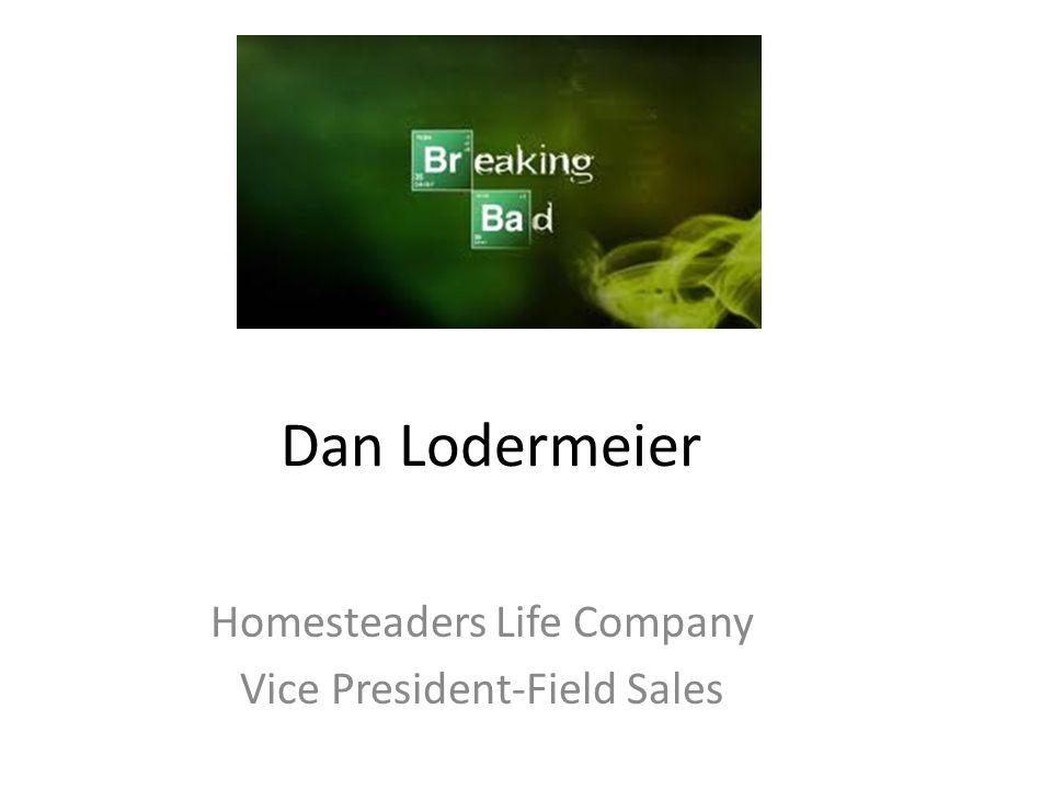 Dan Lodermeier Homesteaders Life Company Vice President-Field Sales