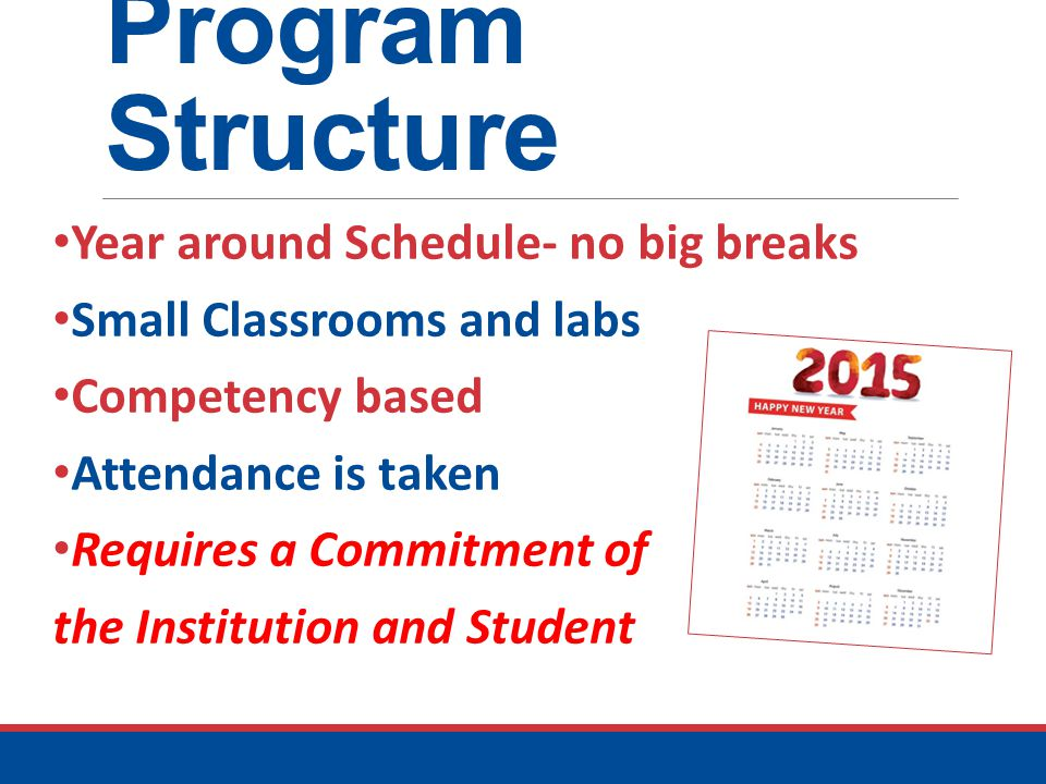 Program Structure Help working students balance jobs and school by using structured scheduling of classes to add predictability to their busy lives — doing so enables many more students to attend college.