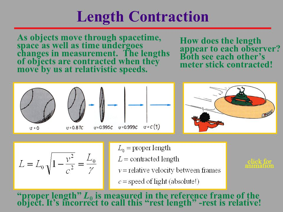 As objects move through spacetime, space as well as time undergoes changes in measurement.