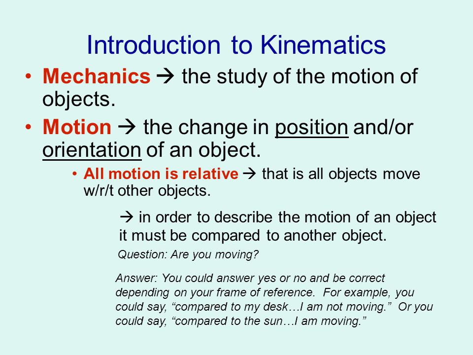 Speed and Velocity Time (s) Position (feet) 2 4 6 8 10 8 6 4 2 0 -2 -4 The time frame = ∆t = 2 sec = ∆x The change in position can be expressed in two ways: Distance traveled =∆d = 2ft =∆y Displacement from starting point = ∆D +2ft =∆y Average speed = Average velocity =