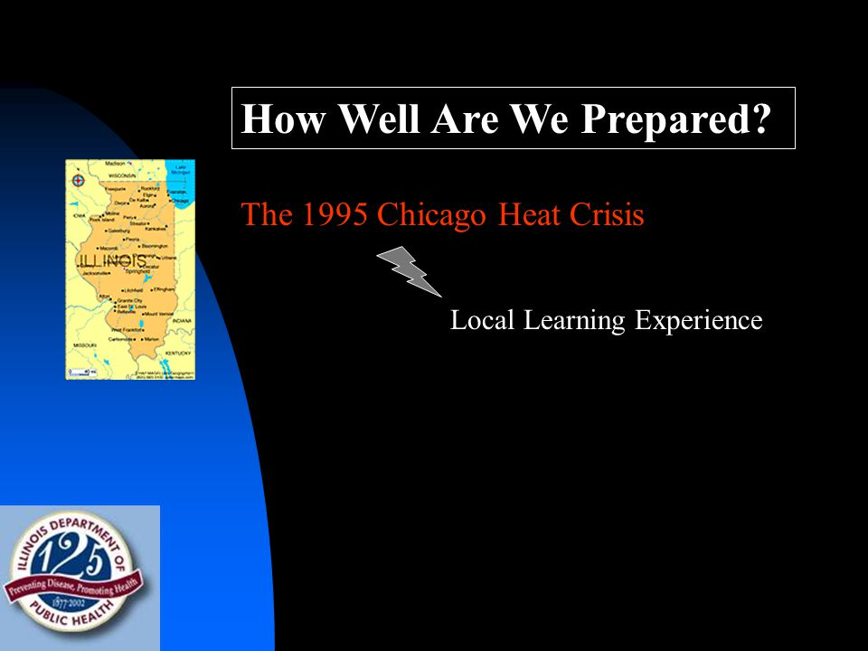 How Well Are We Prepared The 1995 Chicago Heat Crisis Local Learning Experience