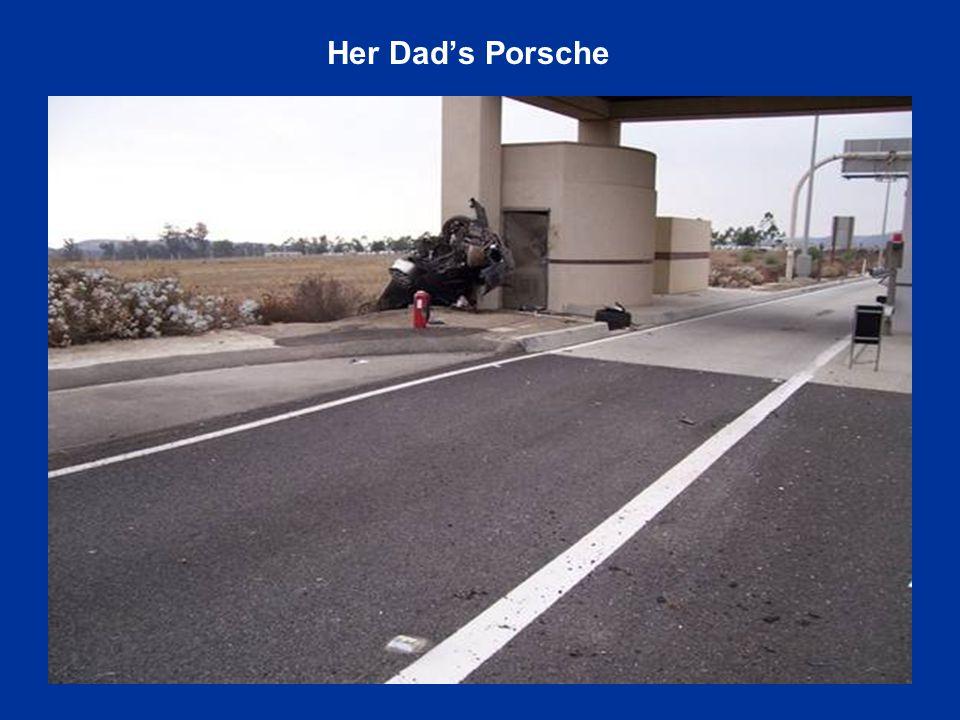 Her Dad's Porsche