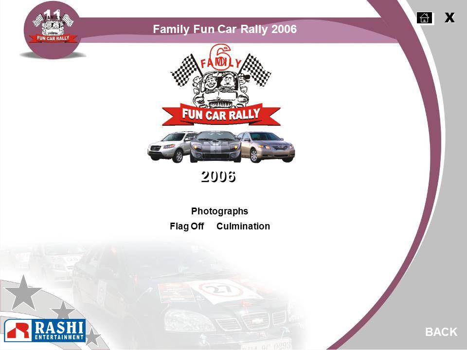 Photographs Flag Off Culmination BACK 2006 X X Family Fun Car Rally 2006