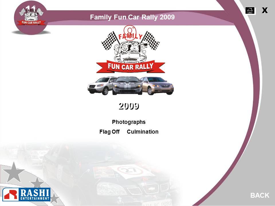 Photographs Flag Off Culmination 2009 BACK Family Fun Car Rally 2009 X X