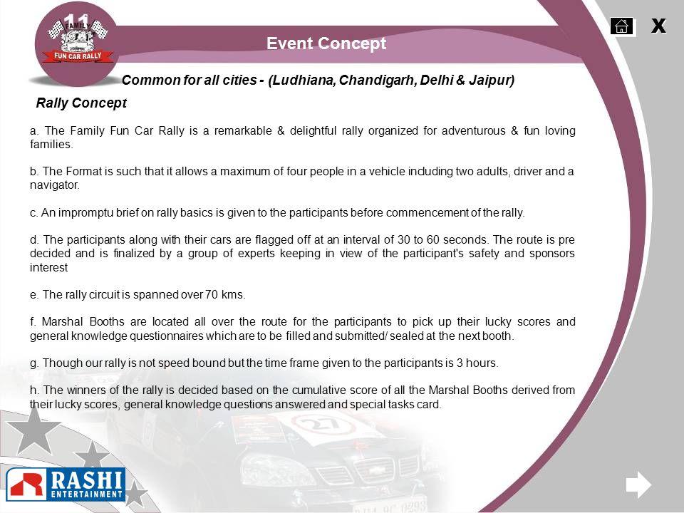 Event Concept X X Rally Concept a.