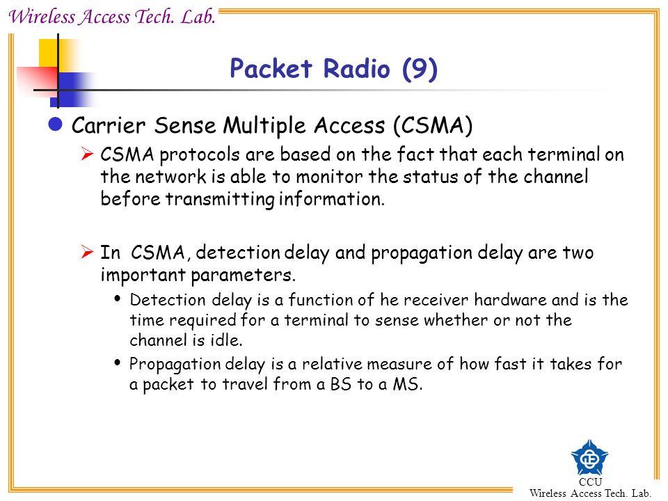 Wireless Access Tech.Lab. CCU Wireless Access Tech.